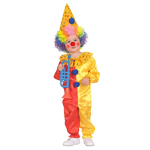 WIDMANN -Clown & Circo Disfraces Niño, Multicolor, 104 cm / 2 3 años, 48919