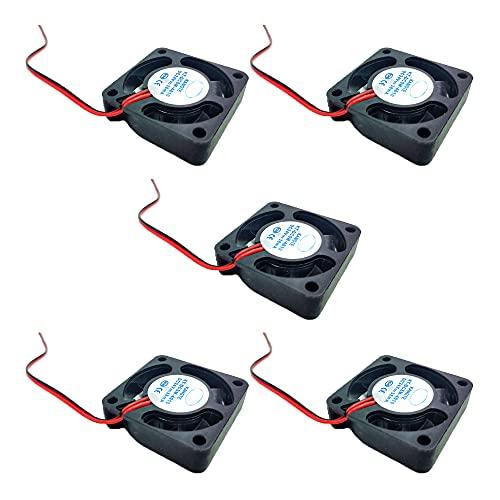 5 Pcs 3D Printer Extruder Cooling DC Fan 40 * 40 * 10MM DC 24V Turbo Fan and DC 24V Extruder Hot End Fan for Ender 3/3 Pro 3D Printer