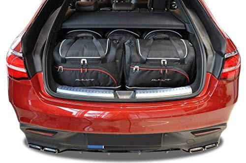 KJUST Taschen 5 STK Set kompatibel mit Mercedes-Benz GLE Coupe C292 2015 - 2018