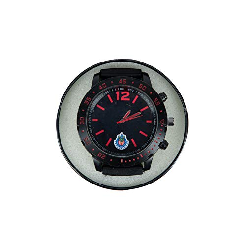 Chivas Reloj 9229 Negro Escudo Abajo, unitalla