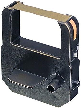 VIS6009 COMPATIBLE LATHEM 6000E TIME CLOCK RIBBON CARTRIDGE BLACK//RED