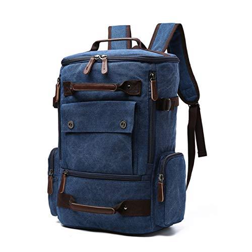 Backpack Vintage Canvas Backpack School Bag Men Travel Bags Large Capacity Backpack Laptop Backpack Bag Rucksack