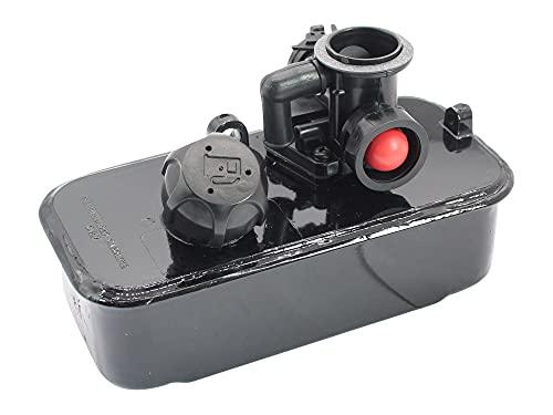 SECURA Benzintank Tank & Vergaser kompatibel mit Briggs & Stratton Quattro 494406 498809