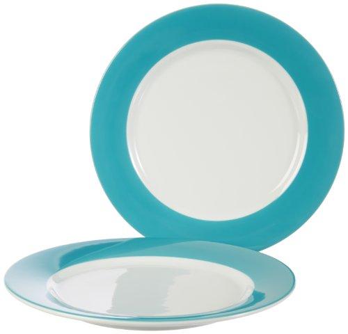 Kahla 57C184A72216C platte borden set 2-delig Pronto, petrol