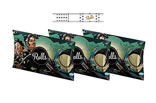 Rolls Smart Filter Tips-180 Stück (6mm Slim) Vorteilspack 3X VIP-60 Pack (Grün), Eindrehfilter mit Kühlsystem, Rolls69 Spezial fertig vorgerollter Filtertip, für Rolling Papers-Keine Aktivkohle, 180