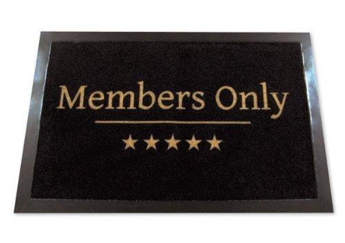 "Knistermann - Felpudo (mensaje ""Members Only"")"