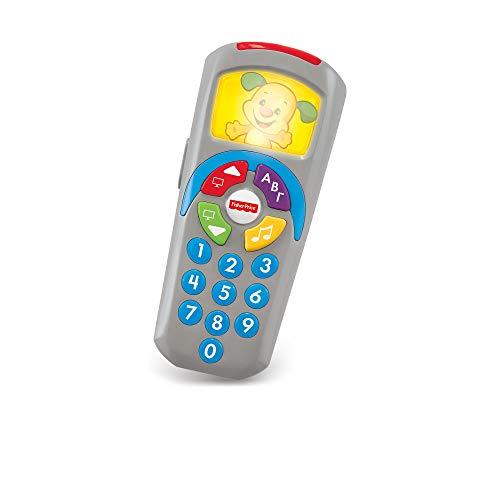 Fisher-Price Mando a distancia perrito, juguete electrónico bebé +6 meses (Mattel DLD35)