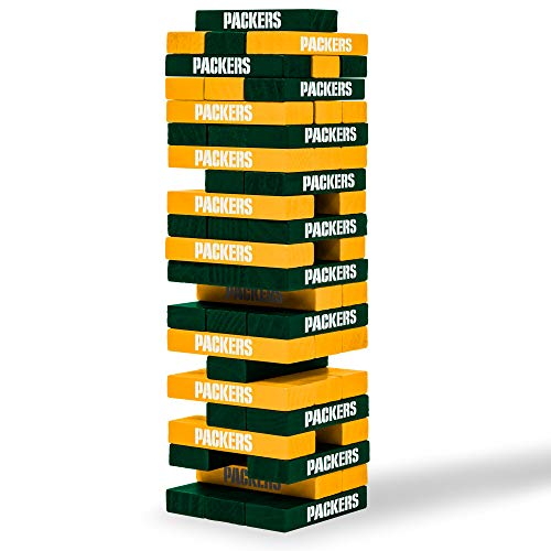 NFL Green Bay Packers Jenga Blocks Game
