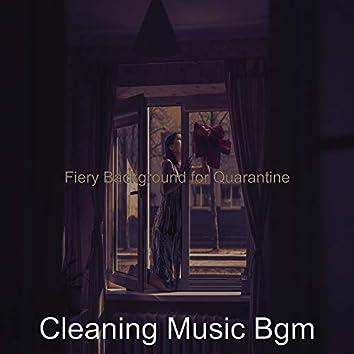 Fiery Background for Quarantine