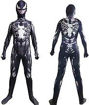 per Uomo e Donna per Adulti Unisex in Lycra Costume da Spider-Man FYBR Venom