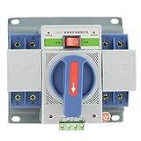 Interruptor Automático de Alimentación Electrónico Dual Interruptor de Transferencia 220V 63A 2P