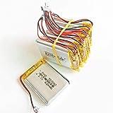 Batería de 3.7V 600mAh 503040 Batería Recargable de polímero de Litio JST 1.25mm 2pin para cámara de DVD MP3 GPS PSP Bluetooth electronics-10PCS-10 Piezas