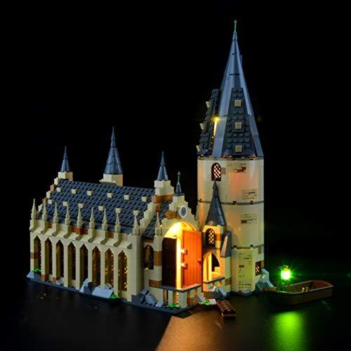 icuanuty Kit De Iluminación LED para Lego 75954 Harry Potter Hogwarts Great Hall Castle (No Incluye El Juego De Lego)