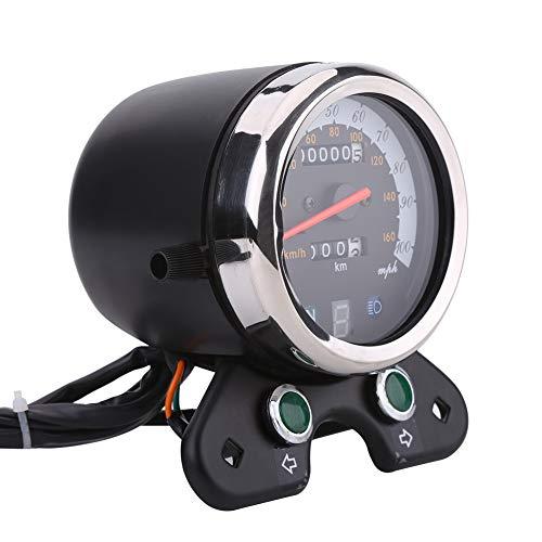 Tachimetro per motocicletta, contachilometri universale per doppio contachilometri contagiri contachilometri display digitale contagiri