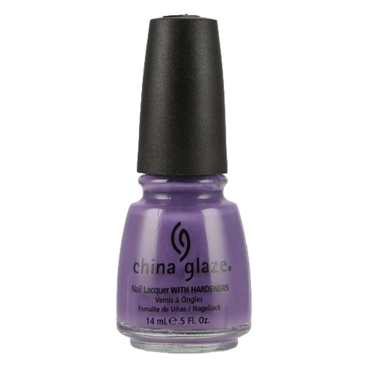部分的に家ショッキングCHINA GLAZE Nail Lacquer with Nail Hardner - Spontaneous (並行輸入品)