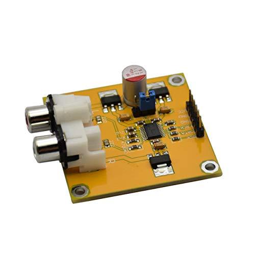 FYstar Pcm5102 Dac Decoder I2S Player Beyond Es9023 Für Himbeere (gelb)