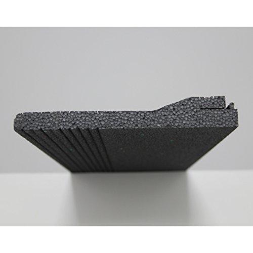 Verschlussdeckel-Formteil für ROKA-SAN-FLEX 1000 mm   für die Sanierung von alten Rolladenkästen