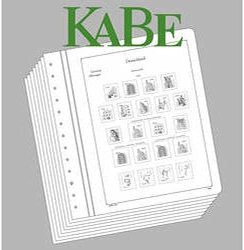 artículos novedosos Leuchtturm 337220 KABE hojas preimpresas República Federal Federal Federal de Alemania 2005-2009  punto de venta barato
