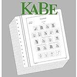 Leuchtturm (317206) KABE Vordruckblätter DDR Dienstmarken inklusive ZKD