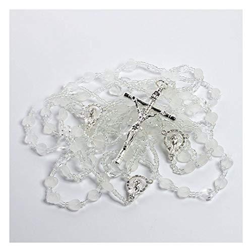 The Heart Shaped Wedding Lazo - Lazo de Bodas Handcrafted Wedding Lasso - Lasso de Bodas. Made with heart shaped crystals and a variety of crystal beads