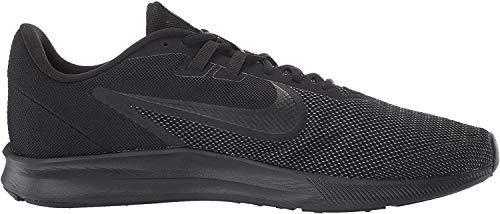 Nike Downshifter 9, Zapatillas de Running para Hombre, Negro (Black/Black/Anthracite 005), 42 EU