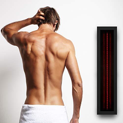 Infrarotstrahler GKR-AR Glaskeramik RotLicht  Sauna inkl Abdeckrahmen Tiefenwärmestrahler kaufen  Bild 1*