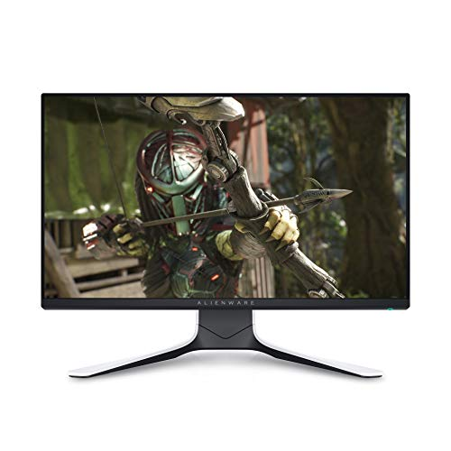 DELL AW2521HFL, 25 Pulgadas, Alienware Gaming Monitor, Full HD 1920 x 1080 a 240 Hz, IPS antirreflectante, 16:9, Compatible con AMD FreeSync Premium y G-Sync, 1 ms, Altura Regulable