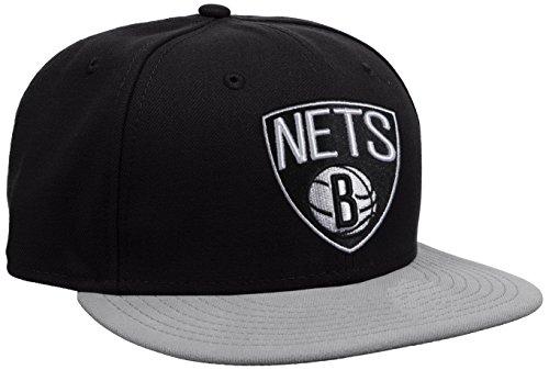 New Era Cap NBA Basic Brooklyn Nets, Black, 7 5/8
