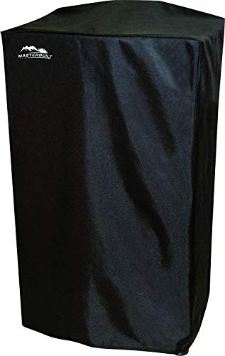 40' Heavy-Duty, Masterbuilt and Reinforced Polyester Smoker Cover, Black