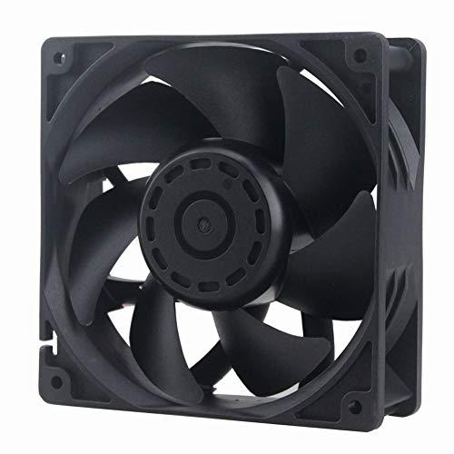 GDSTIME Dual Ball Bearing Big Air Flow High Speed Preesure 4500rpm 12038 12cm 120mm X 38mm 5 Inch 12v Dc Cooling Fan