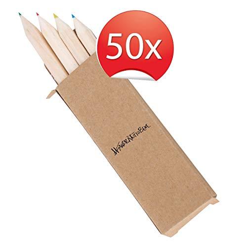 My Custom Style 50 Box 4 matite Colorate da 8cm #andrà Tutto Bene#