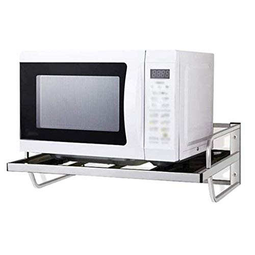 LXGANG Shelf Acero Inoxidable Microondas Rack, Multifuncional Microondas Horno de Carro Cocina for Guardar el Contador de Cocina Holder Cocina