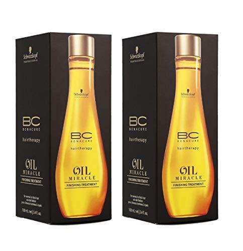 Schwarzkopf - BC Oil Miracle Finishing Treatment Duo Pack (2 x 100 ml)