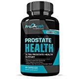 Prostate Support Health Supplement - Maximum Strength - Improves Bladder Discomfort and Urinary Tract Health for Men. Stop Frequent Urination. All Natural Clinically Proven Formula with Saw Palmetto.