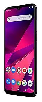 "BLU G80 64GB GSM Unlocked Smartphone Triple 13MP Rear Cameras 6.5"" HD+ Infinity Display Dual SIM - Black  Renewed"