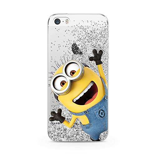 Ert Group DWPCMINS612 Custodia per Cellulare Minions 002 iPhone 5/5S/SE