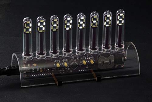 LED-Uhr Tube Röhrendesign, LED-B...