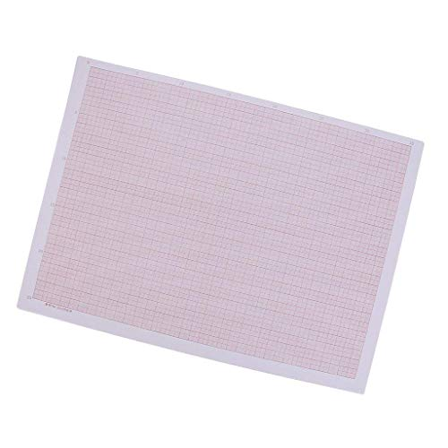 Backbayia 100 Papiere A3 Graphik-Papier, kariert, Millimeterformat