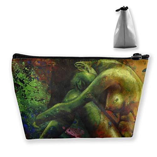 Storage Bag Nude Women Body Cosmetic Bags Outdoor Travel Organizer Bag Makeup Train Case