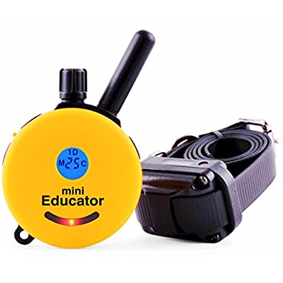 Educator ET-300 Mini 1/2 Mile E-Collar Remote Dog Training Collar With Vibration, Tapping Sensation and Pavlovian Stimulation from E-Collar Technologies