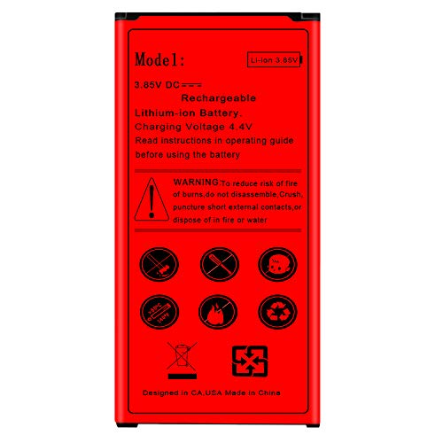 Galaxy S5 Battery, Boosting 4100mAh Spare Rechargeable Battery for Samsung Galaxy S5 G900M i9600 Phone