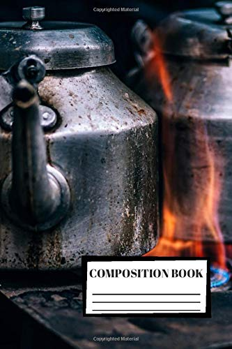 Composition Book: Cooking | Kitchen | Recipe | Composition Notebook | 100 Wide Ruled Pages | Journal | Diary | Note