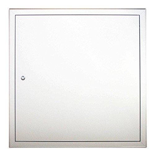 Revisionstür | Revisionsklappe | Decken- und Wandmontage | Softline | Stahlblech | weiß beschichtet | Alle Größen | Markenqualität RUG SEMIN (200x200)