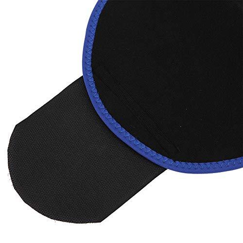 Sicerk Banda para El Vientre Azul/Púrpura, Cinturón Abdominal, Cinturón Deportivo para Adultos, Faja Deportiva, Carpeta Abdominal(30 * 23 * 2cm-Número de código Azul L)
