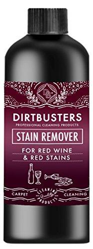 Dirtbusters profesional rojo vino y rojo quitamanchas. Utilizado por profesionales de la limpieza de alfombras las empresas. Da resultados profesionales.
