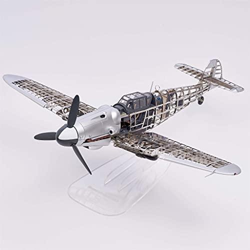 Artesanía Latina Metall & Kunststoff Modell: Messerschmitt Bf 109 Flugzeug 1/16