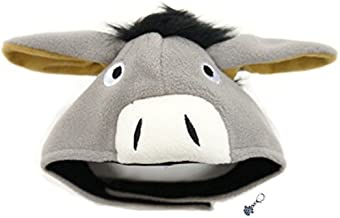 Plush Pet Costume Hat with Clip on Charm – Pet Costume - Pet Hat – for Dogs – Pet Sizes XS to XL