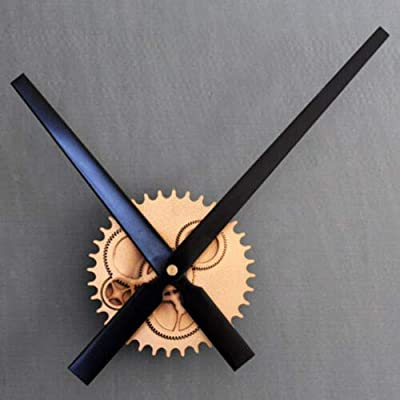 FidgetFidget Gear DIY Wall Clock Modern Design Large Hand Wall Clocks Watch Home Decor Gold Black
