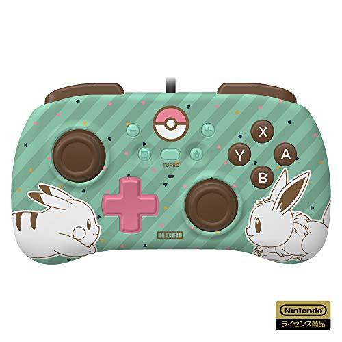 【任天堂ライセンス商品】ホリパッドミニ for Nintendo Switch ピカチュウ&イーブイ【Nintendo Switch対応】