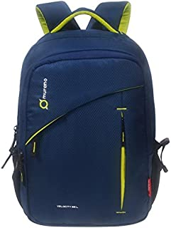 26e634d10e Murano Velocity Casual Backpack with 3 Compartment and Polyester Water  Resistance 35 Ltr Backpack- Navy